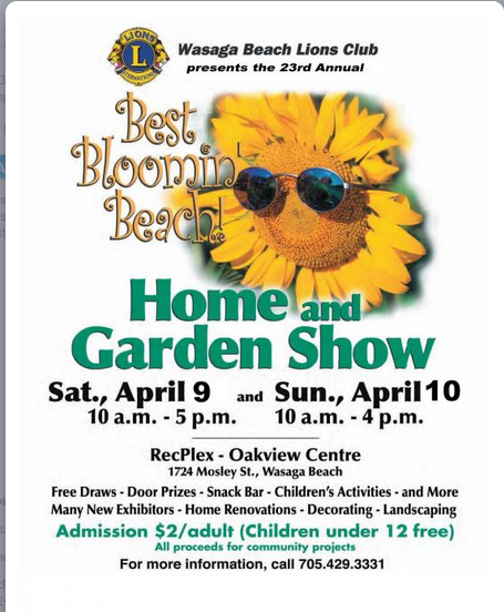 Wasaga Beach Home and Garden Show 2016